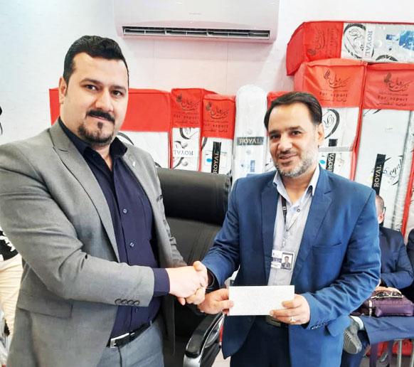 جناب آقای حسین سریزدی کارشناس فروش شرکت رویال